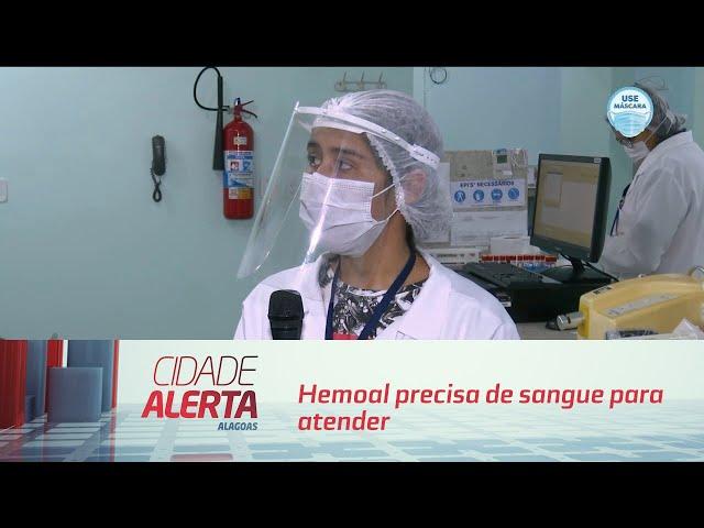 Hemoal precisa de sangue para atender pacientes da covid-19