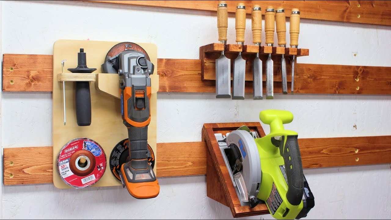 20 Simple French Cleat Ideas For Your Tool Storage Youtube