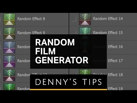 Random Film Generator