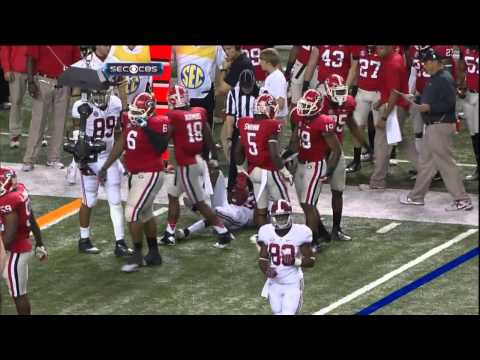2012 SEC Championship - #2 Alabama Vs #3 Georgia