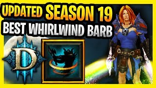Best Whirlwind Barbarian Build Season 19 (Speed T16 And GR) Diablo 3 New Updated WW Barbarian Guide