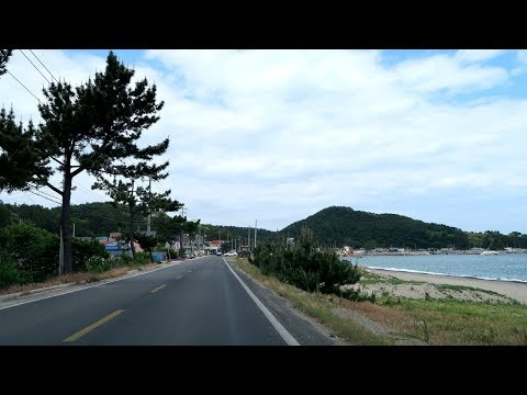 Driving on the South Korea Coastal Road | 끝내주는 동해안 드라이브