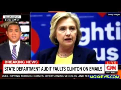NEW State Dept Report Blast Hillary Clinton For Violating FEDERAL Rules Using Private Email Server