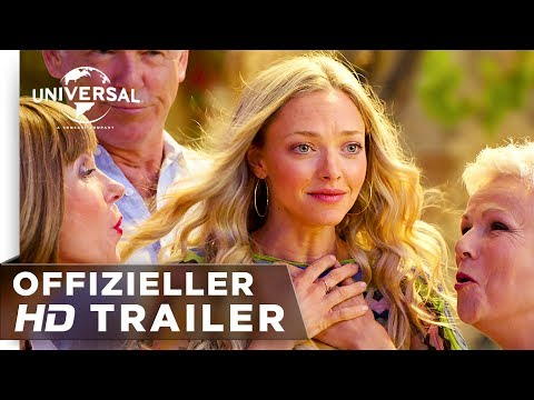Mamma Mia! Here we go again – Trailer #2 deutsch/german HD