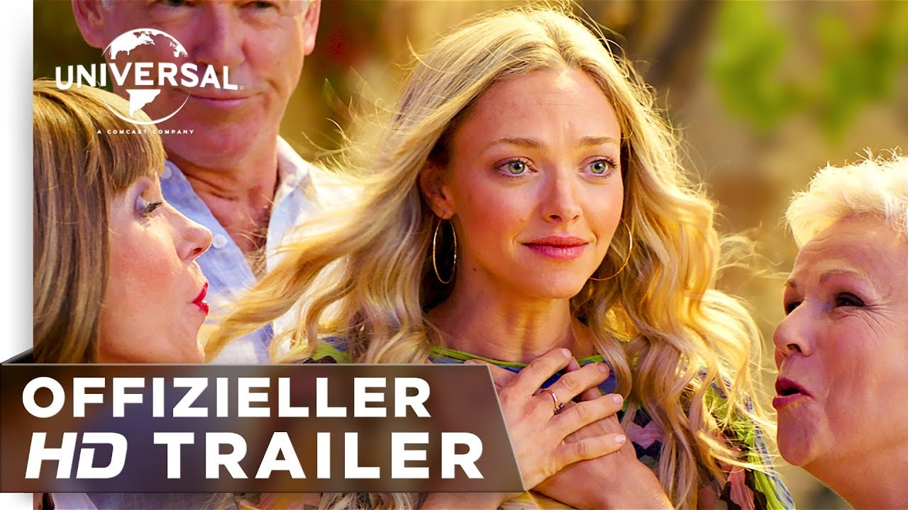 Mamma Mia Here We Go Again Trailer 2 Deutschgerman Hd