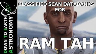 CLASSIFIED SCAN DATABANKS FOR RAM TAH