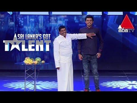 රට වටේම නම් කියන ගුණසිරි !J.A.Gunasiri-Entertaining Act|Sri Lanka's Got Talent Audition 01