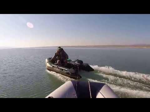 kolibri km 300 dl + yamaha f6 cmhs VS baracuda 2.7 + mercury 6 hp