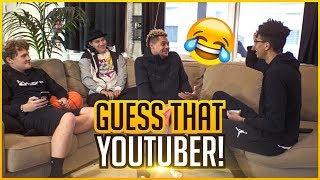 GUESS THAT YOUTUBER CHALLENGE! (Jesser & Jiedel vs. LSK & TTG)