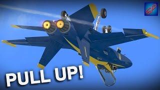 Microsoft Flight Simulator X - Crashes, Death Spirals & Other Funny Moments