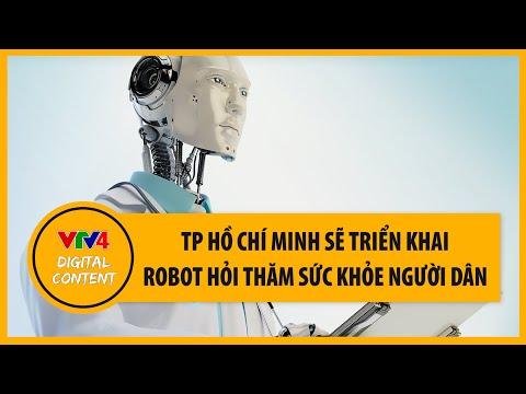 TP Hồ Chí Minh sẽ triển khai robot hỏi thăm sức khỏe người dân | VTV4