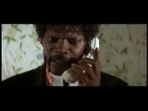 Pulp Fiction: I'm sending The Wolf