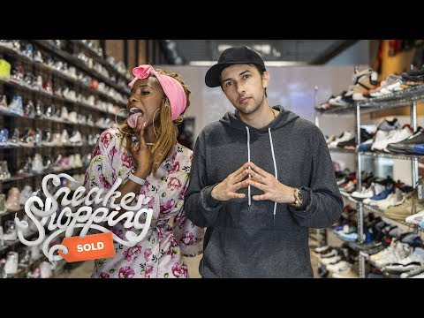 Cardi B Goes Sneaker Shopping With Complex