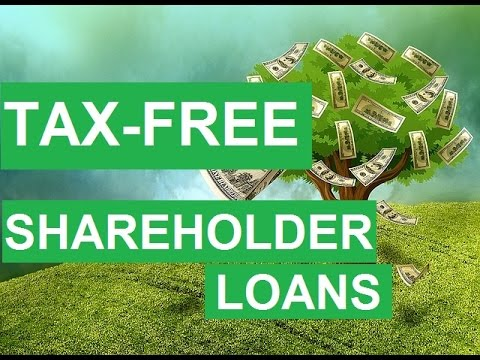 Tax Free Shareholder Loans