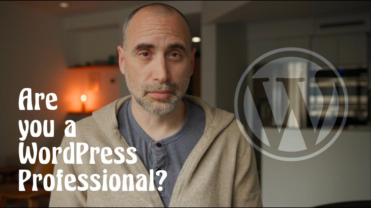 Wordpress Professional Skills In a Nutshell.