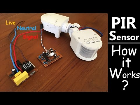 PIR Motion Sensor - How it Works?
