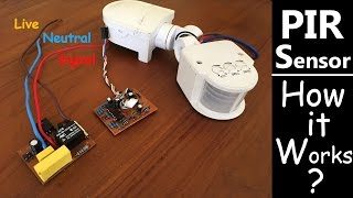 PIR Motion Sensor  How to connect? How it Works?