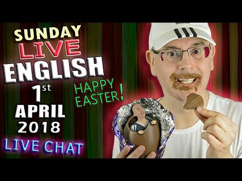 LIVE ENGLISH LESSON - EASTER SUNDAY - 1st...