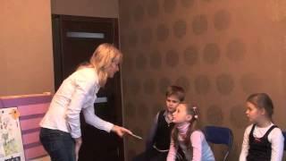 Урок английского языка с детьми после летних каникул