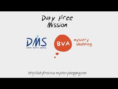 BVA mystery shopping - duty free recruitment