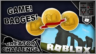 Game Location and Badges! | Roblox Leaks - Winter Creator Challenge