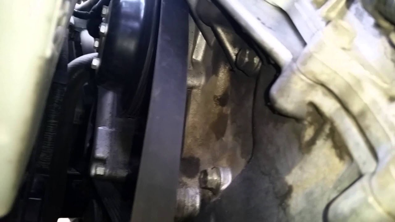 2009 kia sorento 3 3l serpentine belt removal and install [ 1280 x 720 Pixel ]