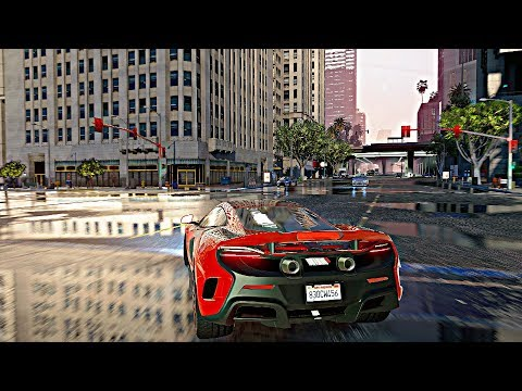 ►GTA 5 Ultra-Realistic Graphics! 4k 60FPS NaturalVision Remastered GTA 5 PC Mod!