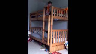 Lincoln's Bunk Bed Ladder