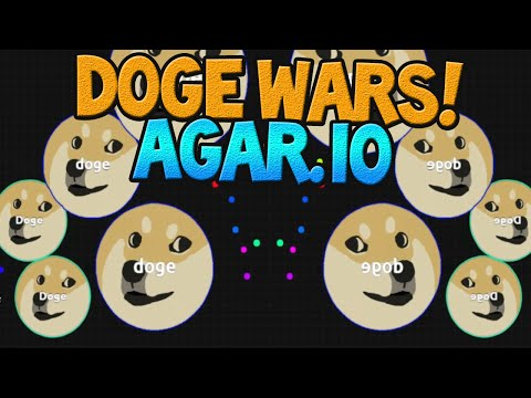 THE DOGE WARS! AGARIO With Friends! (Agar.io/BLOB Wars)