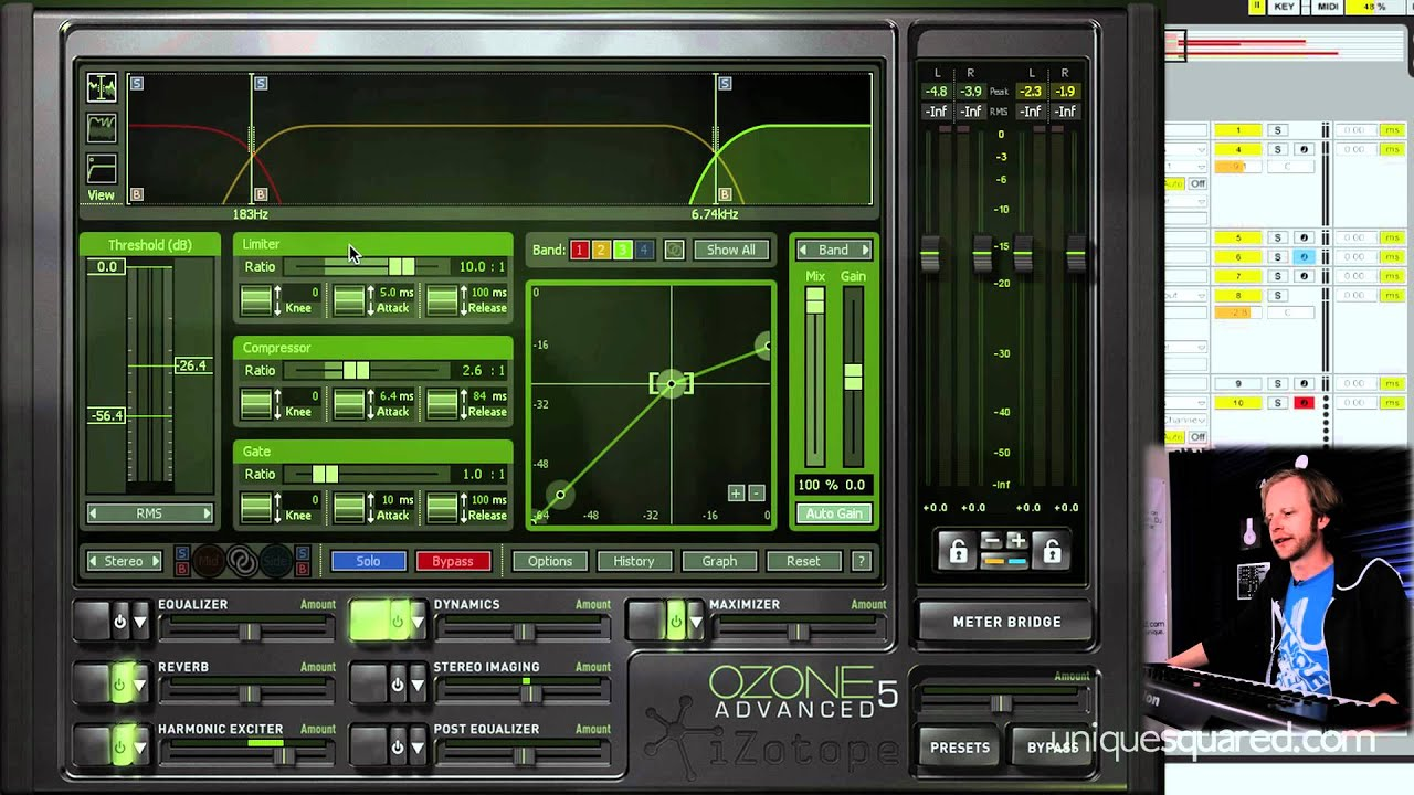 iZotope Ozone 5 Advanced Overview (with Lonely Paul)   UniqueSquared com
