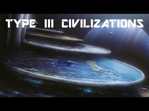 Life in a Type III Civilization