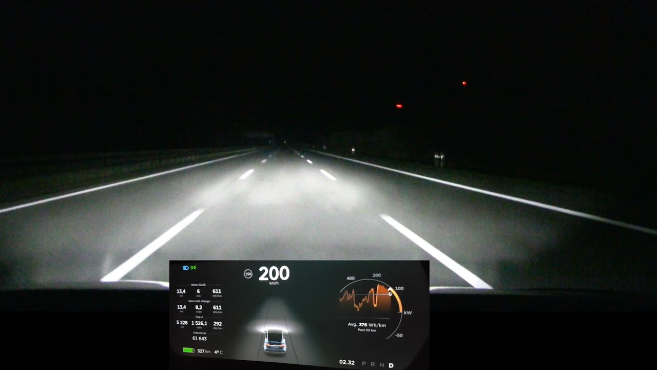 200 Kph To Mph >> Driving Model X 200 Km H 125 Mph For Over 100 Km 60 Mi Youtube
