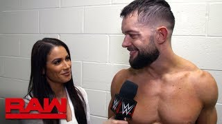 Finn Bálor prepares to reclaim the Universal Title at WWE Royal Rumble: Raw Exclusive, Jan. 14, 2019