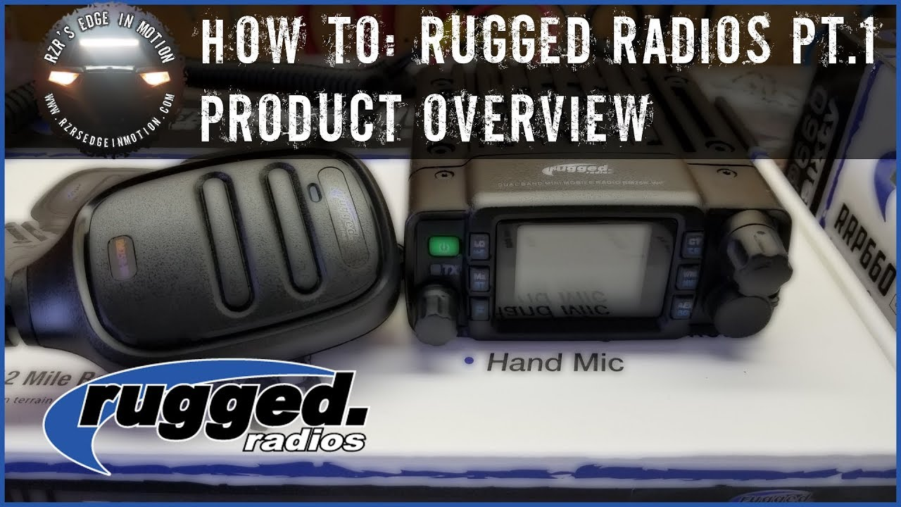 RZR How To - Rugged Radios Install Part 1