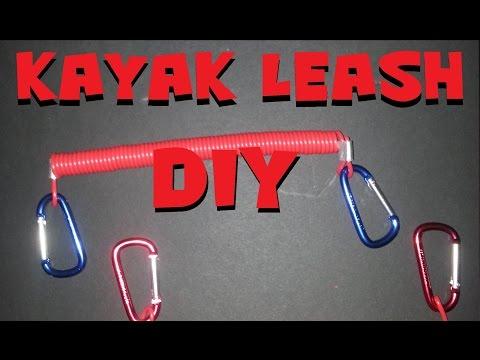 DIY Kayak Leash Super Inexpensive