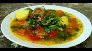 Шурпа. Узбекский суп! Вкусный и сытный. Шурпа из баранины/говядины.