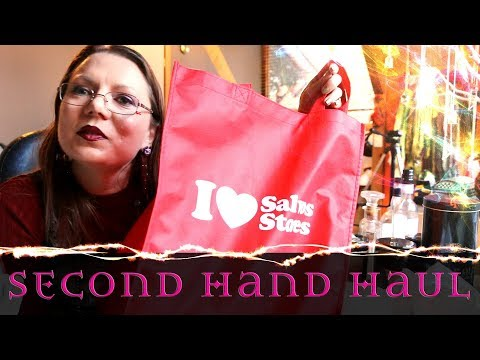 What's in the Bag? - Thrifty Second Hand Store Haul - The Salvos