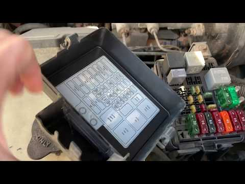 Fuse Box Location On 95-98 Chevrolet Truck