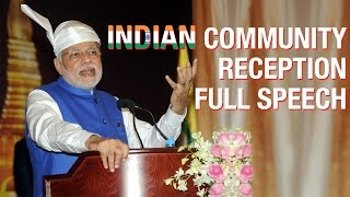 PM Modi Full Speech at the Indian Community Reception in Myanmar