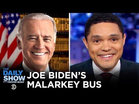 Bloomberg's Bucks, Buttigieg's Beef and Biden's Bite   The Daily Show