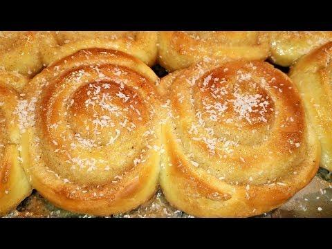 Roscas hungaras o rollos de canela (facil y muy rico)