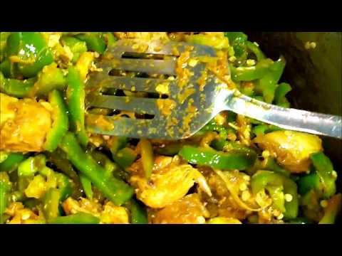 Chicken With Shimla Mirch (chicken And Capsicum )