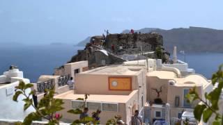 Остров Санторини 2014(Остров Санторини, в 2-х часах хода на катамаране от греческого острова Крит в Эгейском море. Очень красивые..., 2014-07-01T06:29:51.000Z)