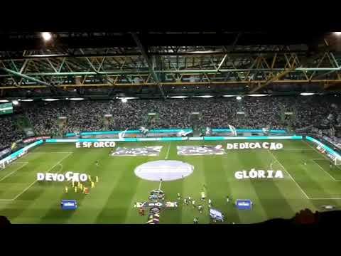 Sporting Lisbona, lo Stadio José Alvalade canta l'inno dei Leoni: che spettacolo!
