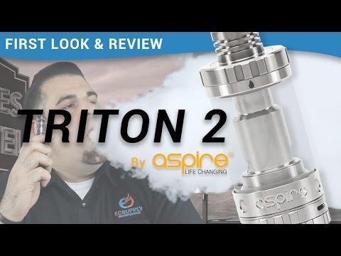 Aspire Triton 2 Sub Ohm Tank: First-look and Mini Vape Review - ecsupplyinc.com