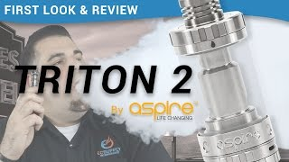 Aspire Triton 2 Sub Ohm Tank: First-look and Mini Vape Review - ecsupplyinc.com(EC Supply review and first-look of the Aspire Triton 2 Sub Ohm Tank. Get yours at https://goo.gl/rdlRg0, the official supplier for all your vaping needs. The new ..., 2015-10-30T00:24:08.000Z)