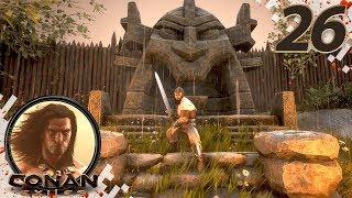 CONAN EXILES (NEW SEASON) - EP26 - New Asagarth Solo Raid! (Gameplay Video)