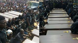 OBASANJO AND IBB VOICE OUT DURING MASS BURIAL IN BENUE STATE