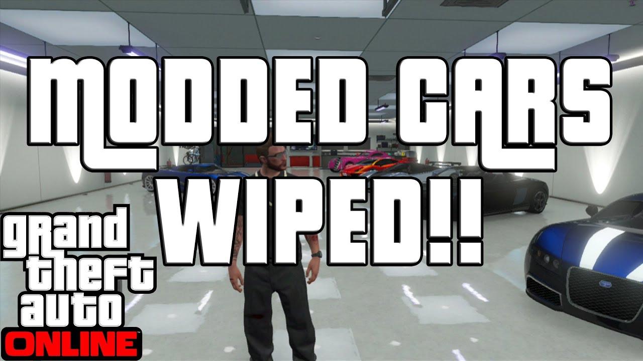 Gta 5 Online Garage Wipe Modded Cars Gone Quot Gta Online