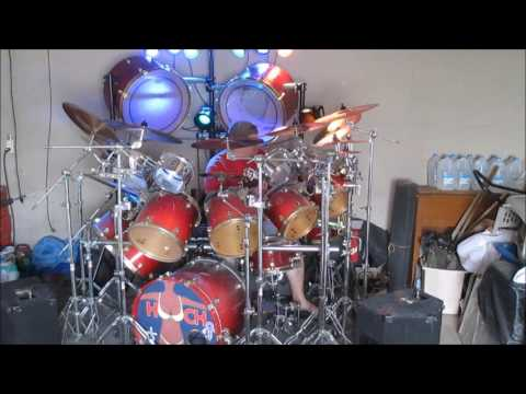 how to play thunderstruck on the drums